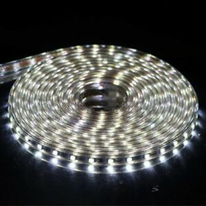 SMD 5050 AC 220V LED Strip Outdoor Waterproof Strip 1M White 60leds/Meters