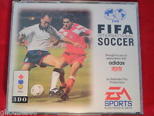 FIFA INTERNATIONAL SOCCER 3DO PANASONIC FIFA SOCCER 94 3 DO GOLDSTAR