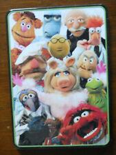 Disney Muppets School Supplies Tin Notepad, Stickers, Pencils, Sharpener Kermit