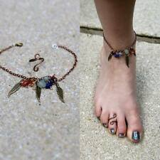 Chakra Crystal Gemstone Hippy Hippie Festival Urban Dream Catcher Bracelet Ring