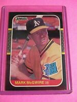 MARK McGWIRE 1987 DONRUSS ( ROOKIE ) CARD #46 OAKLAND A'S/CARDINALS RC