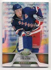 Ryan Callahan 11-12 Panini Certified Dual Game Worn Jersey Mirror Gold /25 2c