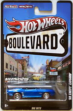 HOT WHEELS BOULEVARD '69 CHEVY CAMARO BIG HITS BLUE