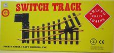 Aristocraft - ART-11215 - G Gauge Remote Left Hand Switch Track - New