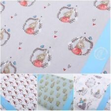 Telas y tejidos infantiles de 100% algodón para costura y mercería