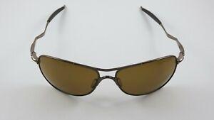 Oakley Crosshair Brown Chrome Bronze Polarized OO4060-04 RARE
