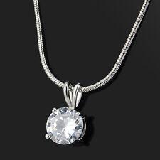 Hot Fashion Jewelry Crystal Pendant Chain Chunky Statement Choker Charm Necklace