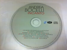 Andrea Bocelli - Incanto Opera Music CD 2008 - DISC ONLY in Plastic Sleeve