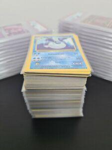 200 1st Edition German Base Set Non Holo Pokemon Cards - NM!