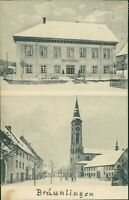 Ansichtskarte Bräunlingen bei Donaueschingen um 1910 Krankenhaus  (Nr.9641)