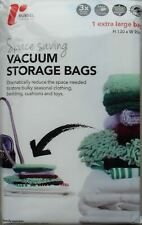 More details for russel large vacuum storage bags shelving solution home 130x90cm reduce space