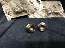 NOS nice TEC pro TITANIUM crank bolts/Kurbel Schrauben z.B. / e.g. SHIMANO XTR