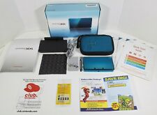 Nintendo 3DS CTR-001 Limited Aqua Blue Launch Edition Handheld System Open Box