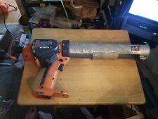 Industrial Ridgid Battery-Powered Cordless Caulking Gun R84040,18 Volts