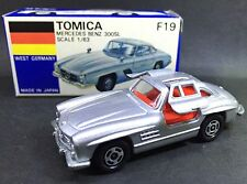 MADE IN JAPAN TOMY TOMICA F19 MERCEDES BENZ 300SL 1/63 DIECAST CAR