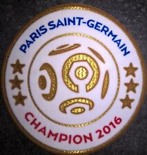 France Patch badge LFP Ligue 1 maillot de foot du Paris.SG Champion 2016 16/17