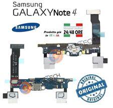 FLAT Flex CONNETTORE Carica Per Samsung GALAXY NOTE 4 N910F MICROFONO ORIGINALE