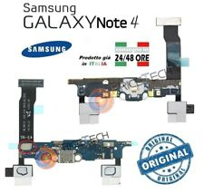 CONNETTORE USB Ricambio SAMSUNG GALAXY Note 4 N910F flat ricarica ORIGINALE