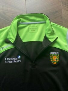 Donegal GAA ONeills Jersey 1/4 zip gaelic ireland warm up top shirt