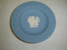 """Wedgwood Jasperware Blue & White Round Dish 4 1/4"""" – 3 Ladies Dancing"""