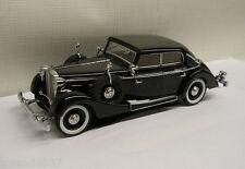 Signature Models 1937 Maybach Sw38 Spohn 4-door Cabriolet Black 1/43