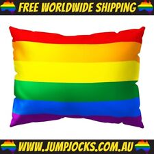 Rainbow Pride Pillow Cover - LGBT, Gay *FREE SHIPPING WORLDWIDE*