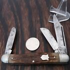 CAMILLUS KNIFE MADE IN USA 1960S-70S  #67 3 BLADE STOCKMAN VINTAGE POCKET