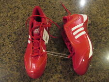Adidas Men's Excelsior 6 Mid Red Baseball Cleats 14 new metal adituff adiprene