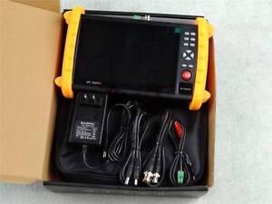 "1PC New IPC9600SATC 7"" Touch Screen Onvif IP HD-AHD/TVI/CVI CCTV Camera Tester"