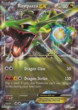 RAYQUAZA EX Holo Pokemon NM RARE Card Black Star Triple Power Tin Promo XY73