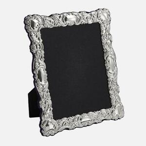 Carrs Sterling Silver Traditional 6x4 Photo Frame BA125