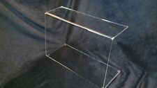 CLEAR PERSPEX ACRYLIC SNEEZE SCREEN CAKE DISPLAY FOOD GUARD 5MM THICK 500mm