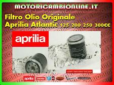 FILTRO OLIO APRILIA ATLANTIC 125-200-250-300cc motore piaggio cod.82635r