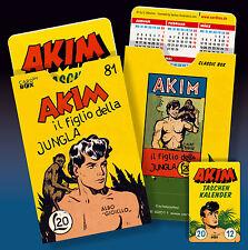 Akim figlio della jungla pedrazza protezione copertura per carta + Zeitplan