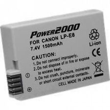 Battery for Canon LP-E8 LPE8 4515B002 EOS Rebel T2i
