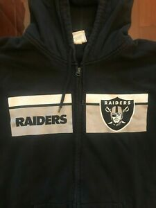 NFL Oakland Raiders Zip-up, 2XL