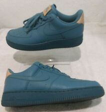 NIKE AIR FORCE 1 '07 LV8  Smokey Blue/Light brown 718152-017 Size 10 Mens