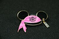 Disney Parks Pirates of the Caribbean Princess Trading Pin Mickey Pink Ear Hat +