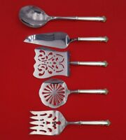 English Shell by Lunt Sterling Silver Brunch Serving Set 5pc HH WS Custom Made