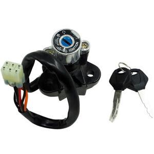 Motorcycle Bike Universal Modified Ignition Key Lock Set Kit Switch