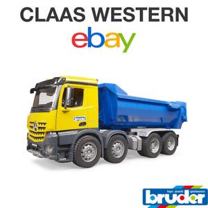 Bruder MB Arocs Halfpipe Dump Construction Truck 03623