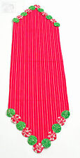 YoYo Holiday Christmas Table Runner 13x48 inches