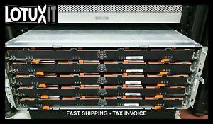 NetApp E2760 60 Disk Array 300TB 10Gb iSCSI 55x 6TB 5x 400GB SSD 12G SAS