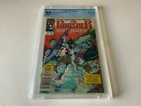 PUNISHER WAR JOURNAL 7 CBCS 9.8 WHITE PS NEWSSTAND WOLVERINE COMIC LIKE CGC 1989
