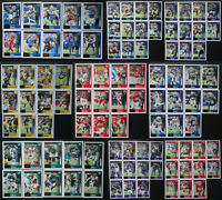 2020 Score NFL Football Veterans Team Set Cards U You Pick From List