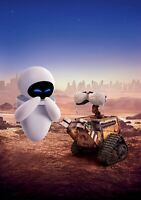 WALL-E Movie PHOTO Print POSTER Textless Film Art Andrew Stanton Coco Up 006