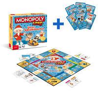 Monopoly Junior Unser Sandmännchen Sandmann Brettspiel Spiel Gesellschaftsspiel