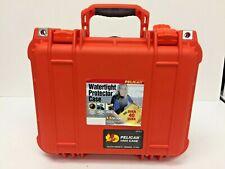 Pelican 1400 NF Case With Foam ORANGE Waterproof Crushproof Protector case
