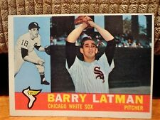 1960 Topps #41 BARRY LATMAN Chicago White Sox Pitcher Baseball Card