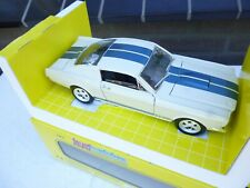 Revell 1/18 Scale - 48835 Ford Mustang 350 GT 1965 White /lue Stripe TOP  in OVP